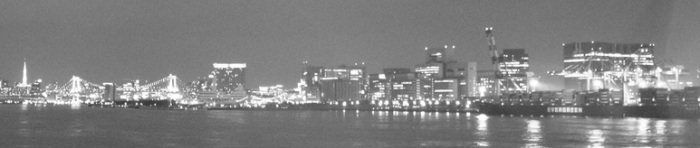 東京 from its bay